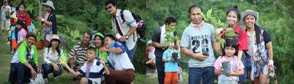 Forest Planting (Ton Phueng) activity on Post's Family Day 2015
